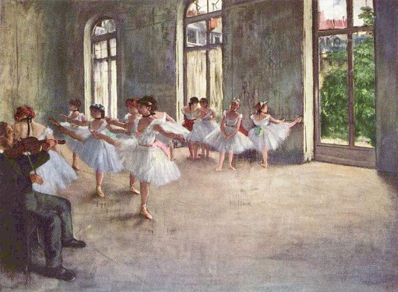Tablolarda Dans Eden Balerinler Necla çikigil Www