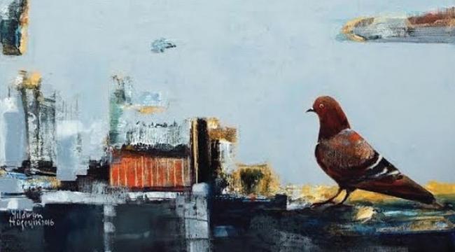 Kapı ve güvercinle, tutsaklık-özgürlük
