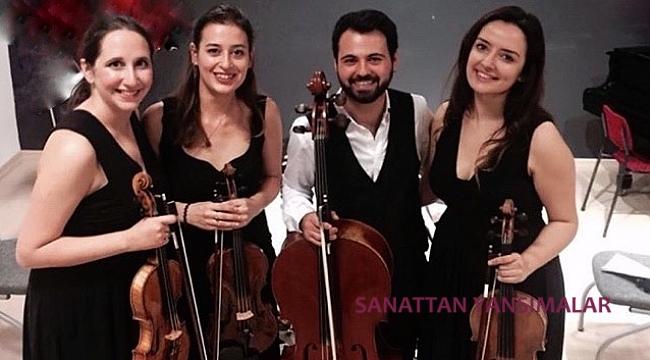 Saygun Quartet İstanbul CRR'de
