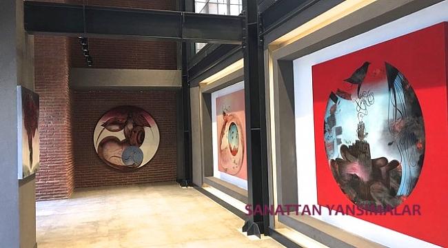 Ertuğrul Ateş'in 12 büyük tablosu İzmir'de...