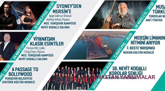 Merfest açılışını KKTC-CSO ve Murat Karahan'la yapıyor