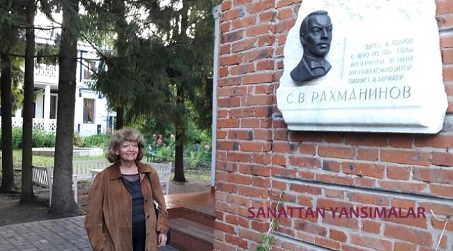 İdil Biret Rahmaninov Müzesi'nde çaldı