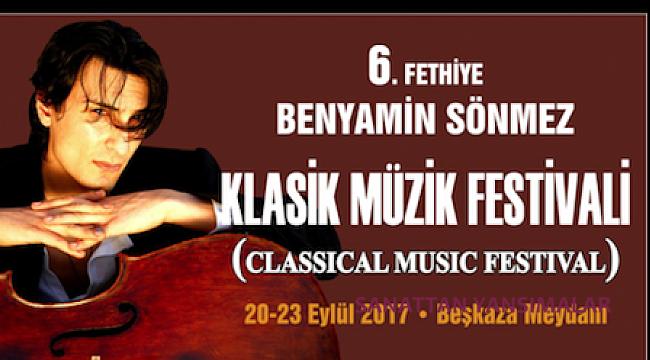 Fethiye'de Viyolonsel Yarışması ve Festival konserleri
