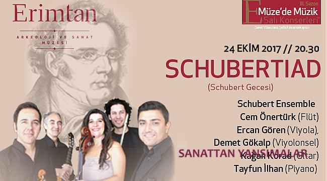 Schubert'in üç eseri, aynı gece seslendirilecek