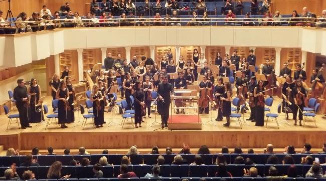 Gençlik Orkestrasında Bilkent-Hacettepe dayanışması...