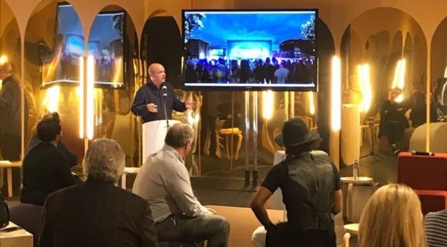 Tabanlıoğlu, Design Miami'de Yeni AKM'yi anlattı