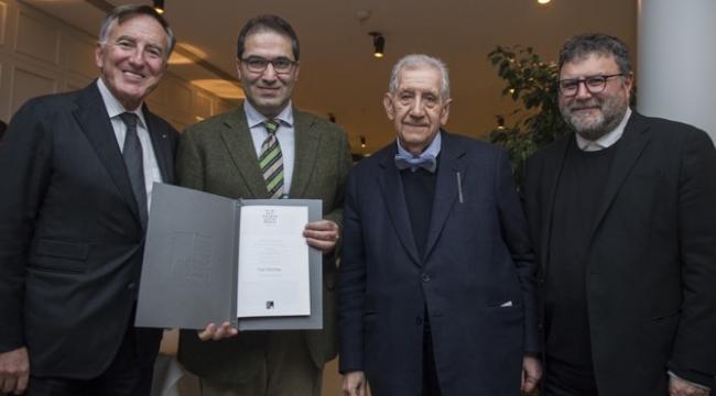 T. S. Halman Çeviri Ödülü Fuat Sevimay'ın