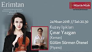 Turku Filarmoni'li  Çınar Yazgan  24 Nisan'da Erimtan'da