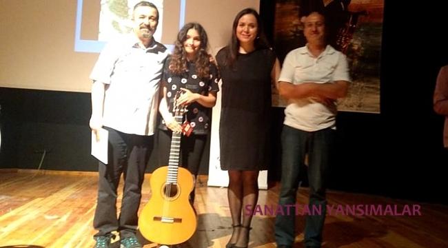 Işılay Saygın GSL, İzmir'de gitara sevgiyi arttırdı