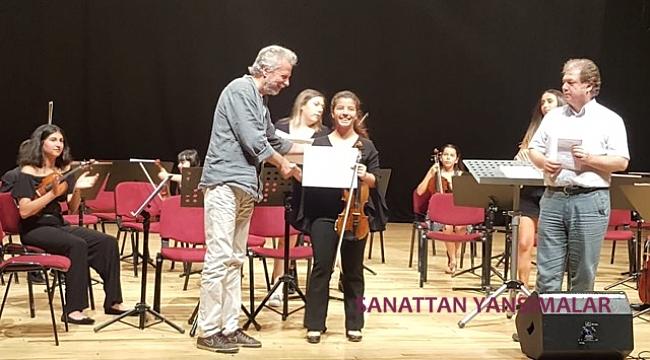 Karşıyaka'da final konseri ve sertifika töreni