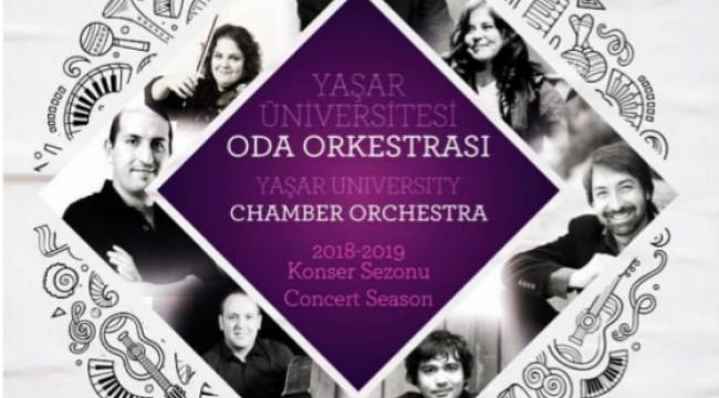 Yaşar Oda Orkestrası 31 Ekim'de AASM'de