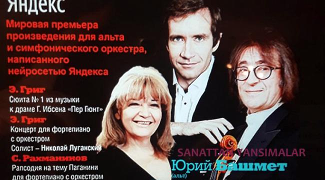 Biret 24 Şubat'ta Sochi'de Rahmaninov çalıyor.