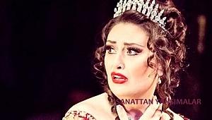 Mine Kurtoğlu Antalya'da Aida söylüyor