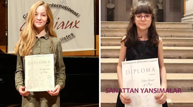 12. Grimaux Yarışması'nda Türk çocukların başarısı