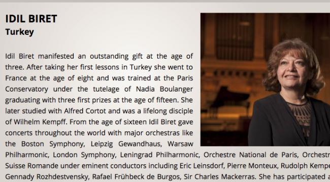 İdil Biret,  Aarhus Uluslararası Piyano Yarışması jürisinde