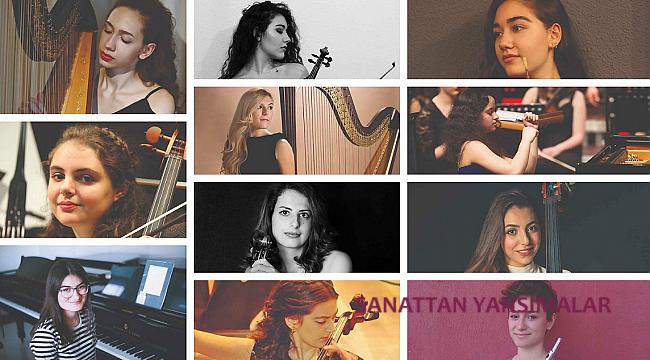 14 Genç Kadın Müzisyene Destek