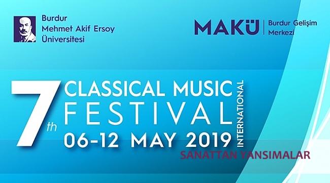 Burdur'da çocuk ve gençlere klasik müzik festivali