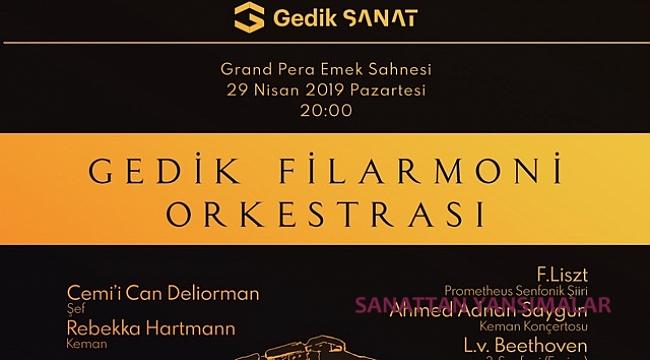 C. C. Deliorman yönetecek, R. Hartmann Saygun çalacak...