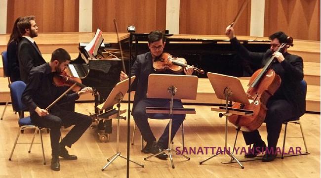 Agora, Obliviate ve Olten Kuartet'le Pal Trio