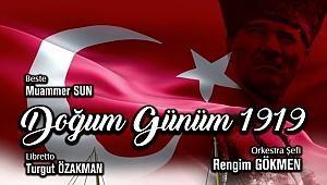 """Eskişehir'de """"Doğum Günüm 1919"""" sahnelemesi"""