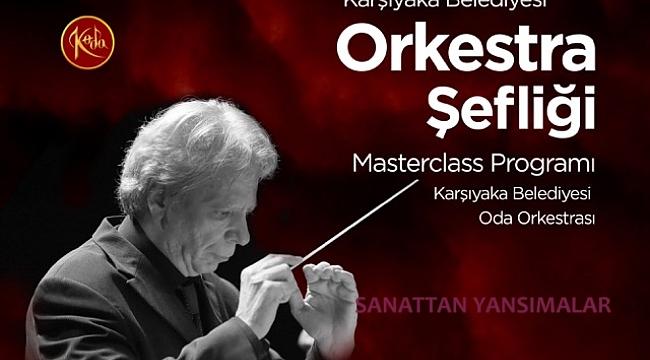 Karşıyaka 4. Orkestra şefliği kurs başvuruları başladı
