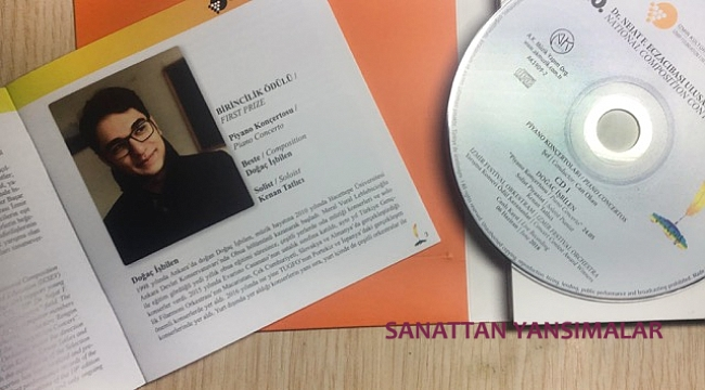 Eczacıbaşı Ulusal Beste Yarışması Albümü Yayınlandı