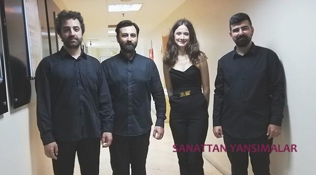Maltepe'de Kontrbas Dörtlüsü Konseri