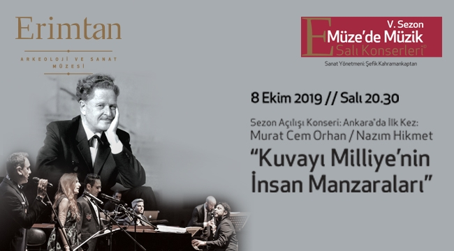 Murat Cem Orhan'ın bestesi, Ankara'da ilk kez Erimtan'da