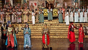 Aida Operası Congresium Sahnesi'nde