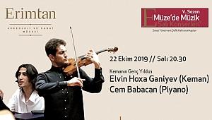 Elvin Hoxha Ganiyev'e Cem Babacan eşlik ediyor