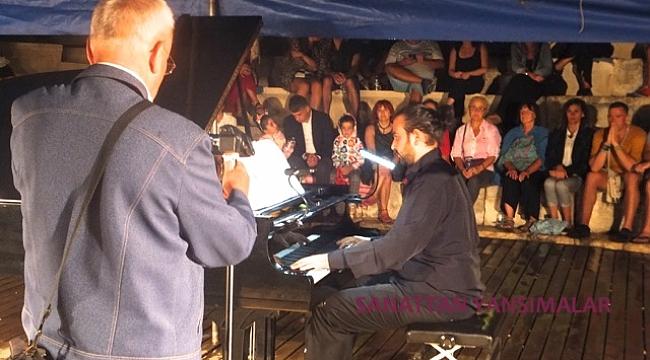 Eylül mehtabında  Kaş Klasik Müzik  Festivali