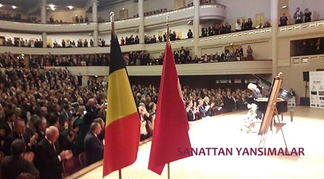 İdil Biret,  Belçika'da 60. Yılı Resitalinde ayakta alkışlandı