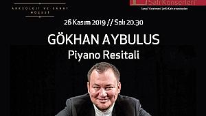 Gökhan Aybulus 26 Kasım'da Erimtan'da