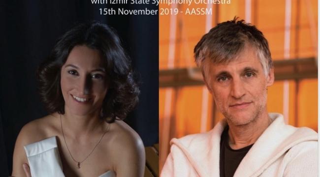İzmir DSO'da  Türk-İsviçre Dostluk Konseri
