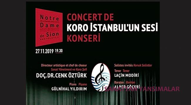 Sezonun İlk Konseri 27 Kasım'da N. D. De Sion'da