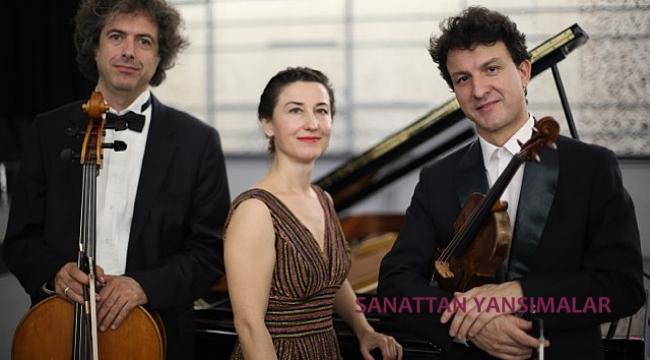 Ulucan Piyano Trio'dan Ravel ve özel eserler