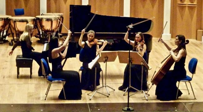Aden Trio ve Hande Dalkılıç'la Nemeth Quartet