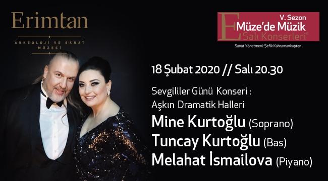 Aşkın Dramatik Halleri 18 Şubat'ta Erimtan'da