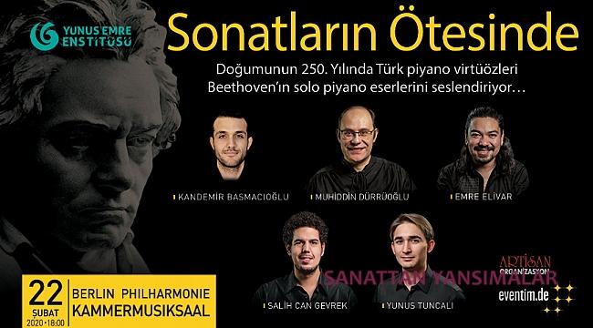 Beethoven yılında 5 Türk piyanist Berlin Filarmoni'de!
