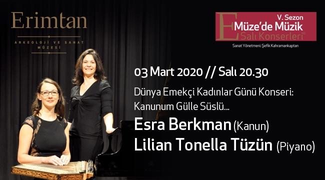 Esra Berkman - Lilian Tonella Tüzün 3 Mart'ta Erimtan'da
