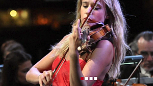 İtalyan kemancı Anna Tifu ve Tekfen Filarmoni