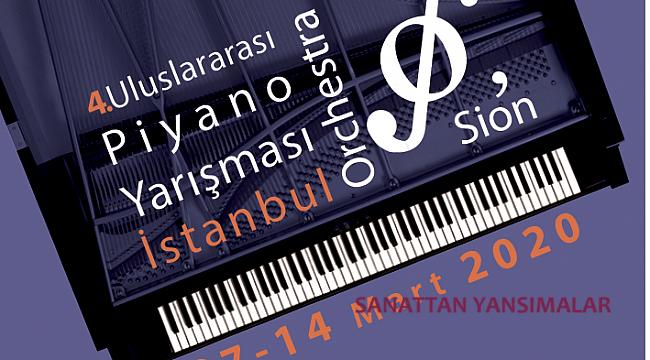 4. İstanbul Orchestra'Sion Piyano Yarışması