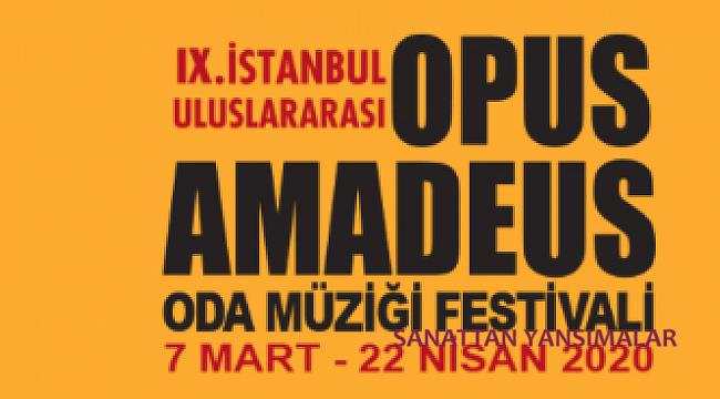 Opus Amadeus Festivali iptal edildi