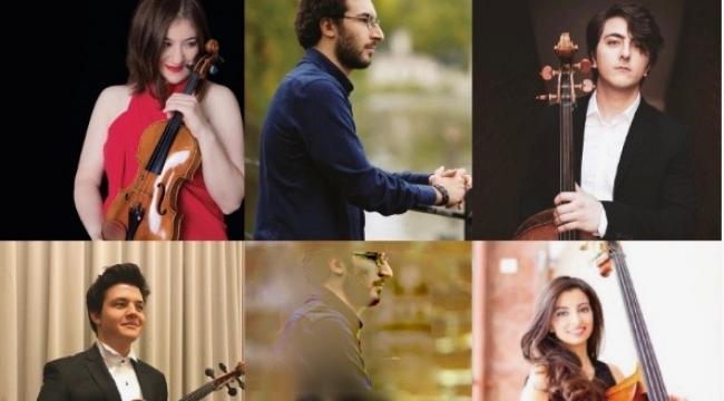 Genç Müzisyenlerimiz Alabalık Beşlisi'ni Çalıyor