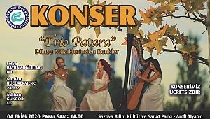 4 Ekim'de Trio Patara ilk kez Eskişehir'de