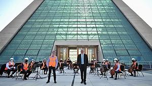 CSO, Emekçilere Teşekkür Konseri Verdi