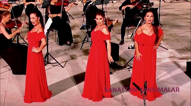 Üç Soprano Ankara DOB Sahnesi'nde