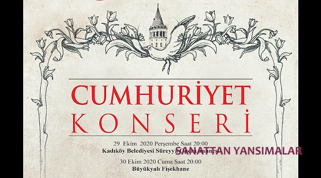 İstanbul'un İki Yakasında Cumhuriyet Konseri