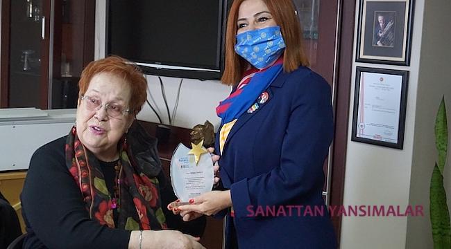 Selma Yağcı'ya Rotary'den Meslek Hizmet Ödülü