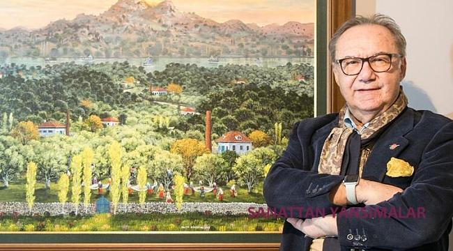 ÇAĞSAV Onur Ödülü, ressam Yalçın Gökçebağ ve Çorum Sanat Müzesi'ne